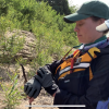 Tracking the potential turtle nest site using GPS