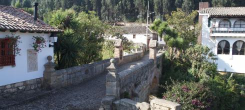The colonial architecture of Boyacá
