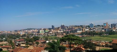A view of Kampala city