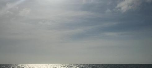 The sun shone high over Playa Mendoza on the Caribbean Sea
