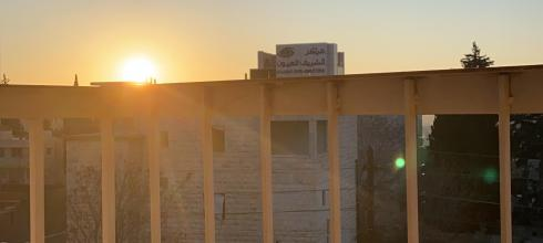 Another balcony sunrise