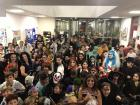 Look how many people came to our Halloween party!
