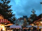 Outdoor Christmas markets open in December in Germany