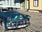 Most cars in Estonia are modern, but I found an old classic car!