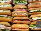 Broodjes, a baguette sandwich