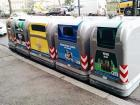This is what the big trash bins look like in the city