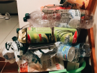 I separate my trash in my apartment too - this is my recycling bin