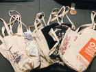 Similar to some places back home, you have to bring reusable bags to every store because this helps reduce plastic waste
