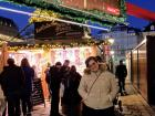 Christmas markets are made of small wooden cottages selling food, drinks and gifts for the holidays