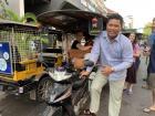 Sanghai, my tuk-tuk driver