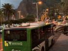 Buses leave from the stop in Santa Cruz and go all over the island
