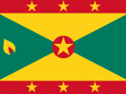 Do you see the nutmeg seed on Grenada's flag?