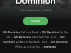 मेरा पसंदीदा बैंड - ओल्ड दोमिनीयोन
