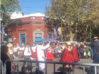 Folk dancers at the Feria de Mataderos (May 25, 2018)