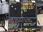 An interactive way of collecting data for education research at an event