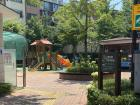 Playgrounds like these are very common in neighborhoods with lots of kids!