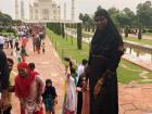 On our first weekend trip, we visited the Taj Mahal, which was built my the late Mughal emperor Shah Jahan to house the tomb of his favorite wife, Mumtaz MahalIt