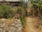 This village is still rebuilding after a large earthquake that happened a few years ago
