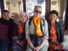 Getting to know people like these smart, funny and warm ladies is the best part of travel