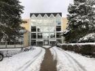 School in snow II