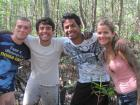 During University we took a Marine Biology class and went to a swamp (Brazil, 2010)